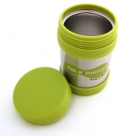 insulated food jar green 244